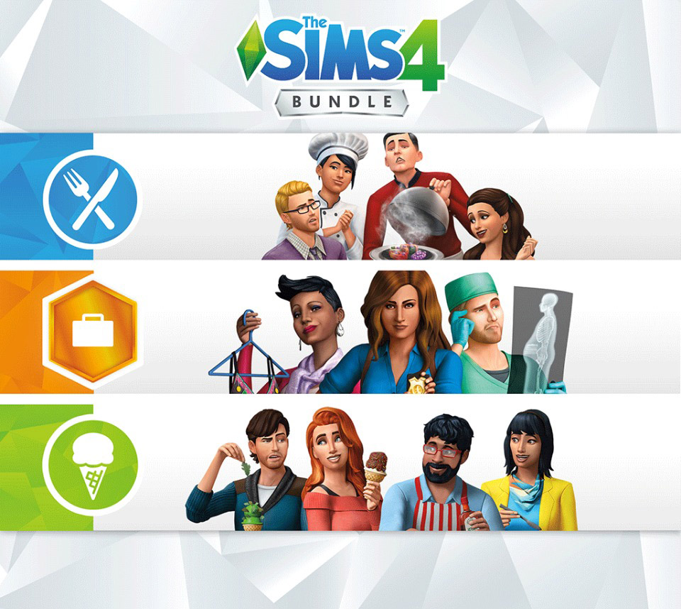 Cool Kitchen Stuff: THE SIMS 4 BUNDLE (GET TO WORK, DINE OUT, COOL KITCHEN