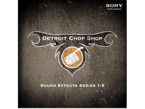 The Detroit Chop Shop Series 1-5