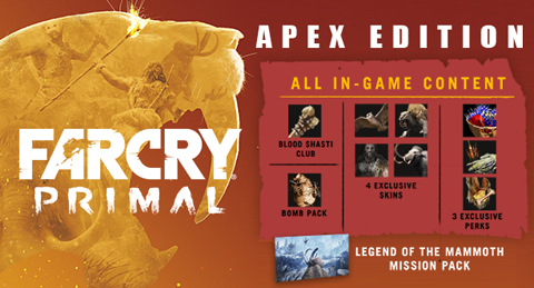 Far cry primal digital apex edition online game code newegg general information fandeluxe Choice Image