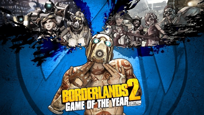 Borderlands 2 Game of the Year Edition [Online Game Code] - Newegg com