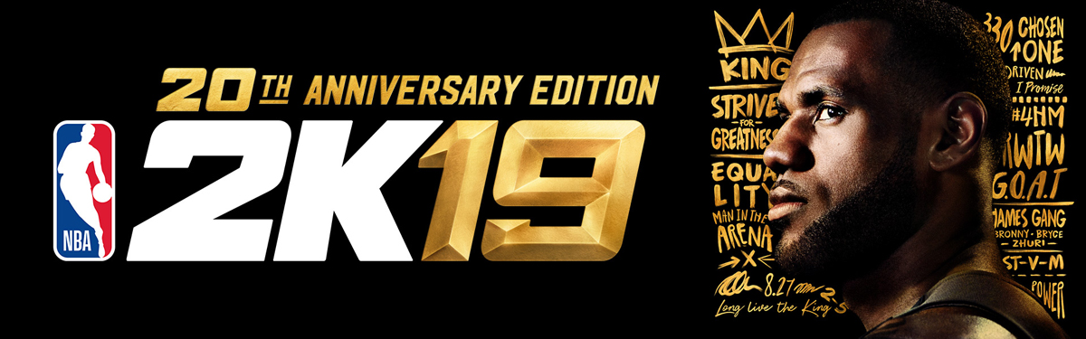 NBA 2K19 20th Anniversary Edition for PC [Online Game Code] - Newegg com