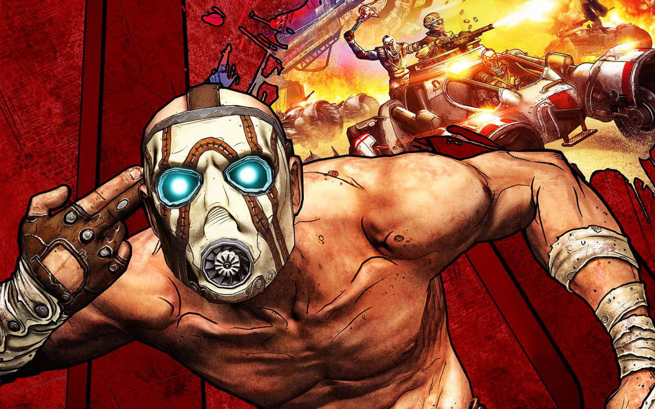 Borderlands Game of the Year Edition Main Game Art