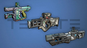 Weapons from torgue