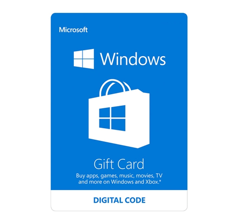 Microsoft Windows Store Gift Card - $100 (Email Delivery) - Newegg.com