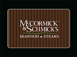 McCormick & Schmick's Giftcard