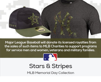 New York Yankees Hat - Stars & Stripes MLB Memorial Day Collection Banner