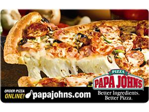 Papa John's $25 Gift Card (Email Delivery) - Newegg.com