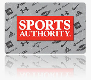 Sports Authority Gift Card