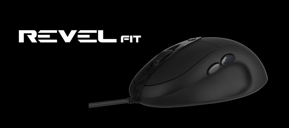 Nixeus REVEL Fit Ergonomic Gaming Mouse PMW 3360, Rubberized Black -  Newegg com
