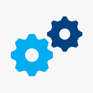 Icon - Gears: SIMPLE TO USE