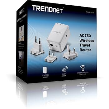 Trendnet Tew 817dtr Ac750 Wireless Travel Router Newegg Com