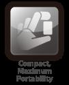 Plug-and-play, compact design for easy setup