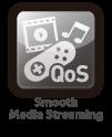 QoS-enhanced media streaming quality