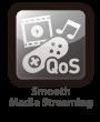QoS enhances media streaming quality