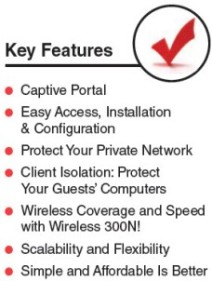 GuestGate Mark II Key Features