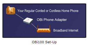 Obihai OBI100 VoIP Telephone Adapter with Google Voice & SIP ...