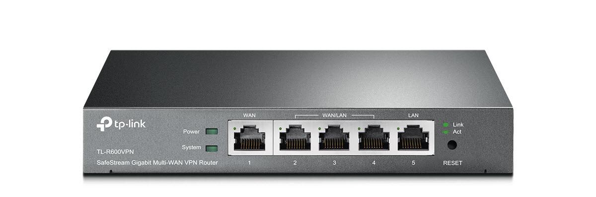 TP-Link TL-R600VPN SafeStream Gigabit Multi-WAN Desktop VPN Router -  Newegg com
