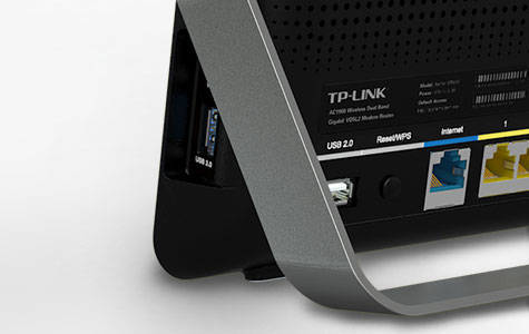 TP-Link AC1900 High Power Wireless Wi-Fi Gigabit Router, Ideal for Gaming (Arche