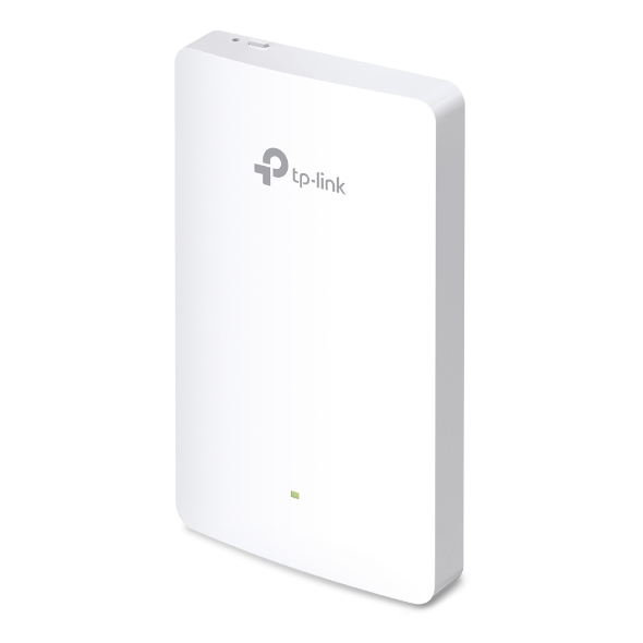 TP-Link EAP225-Wall Access Point Angled A Little to Left