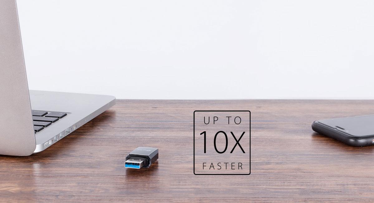 USB 3.0 for Superior Transfer Speeds