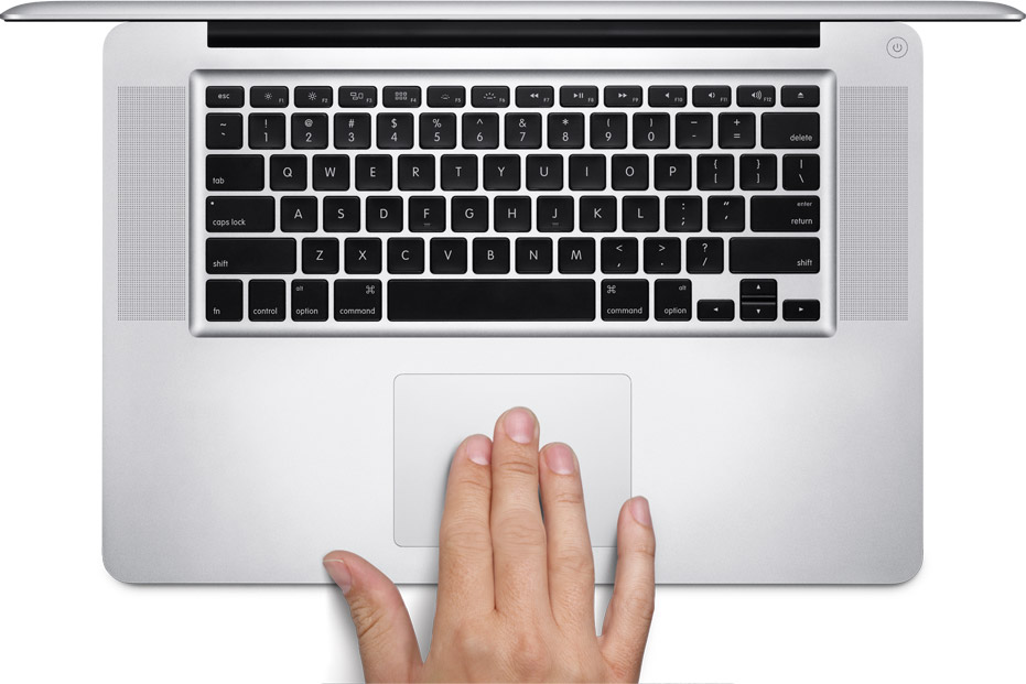 Multi-Touch trackpad. It just feels right.