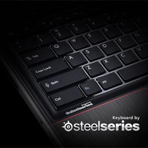 Unparalleled professional SteelSeries keyboard