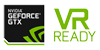NVIDIA GEFORCE GTX Badge and VR Ready Logo