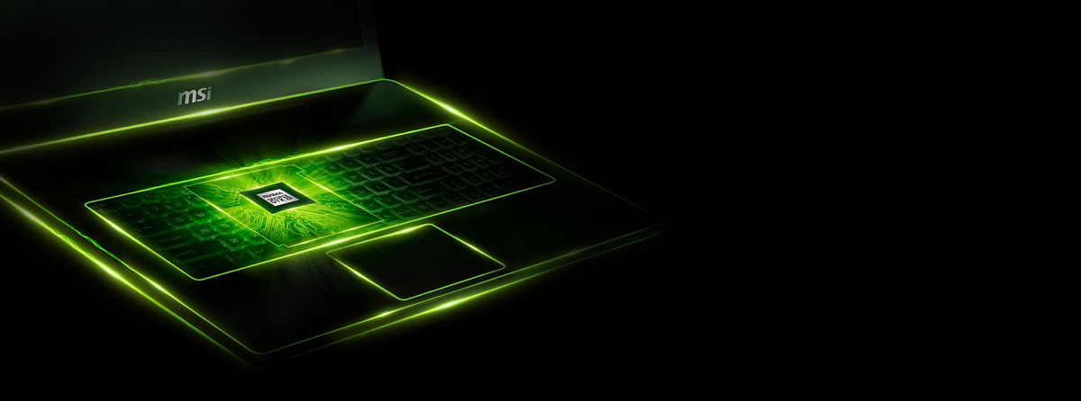 NVIDIA'S GEFORCE GTX 1070 GPU IS READY TO AMAZE YOU ON MSI GAMING NOTEBOOKS