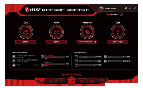 Msi GF63 8RC-252CA Gaming Notebook