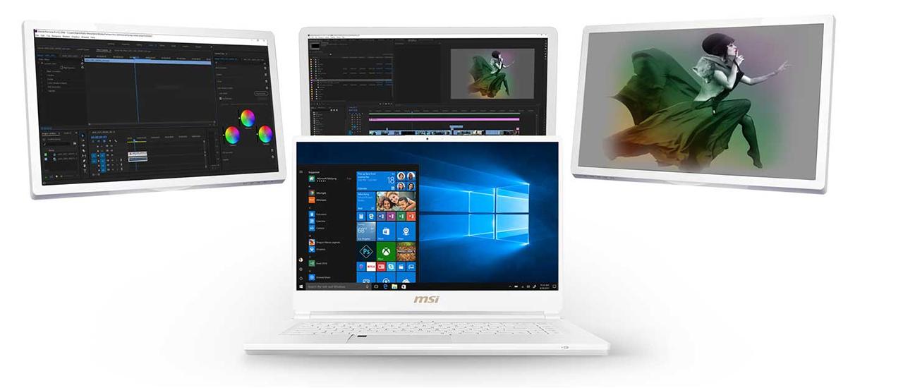 MSI Prestige Series Laptops