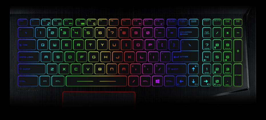 PER-KEY RGB GAMING KEYBOARD BY STEELSERIES