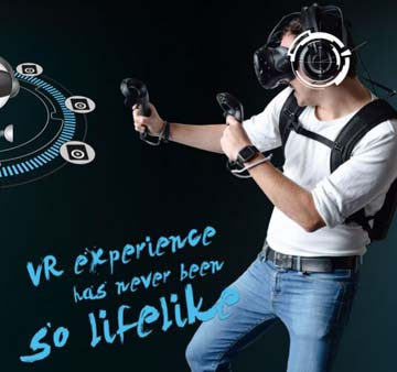 LIVE THE COMPLETE AND IMMERSIVE VR EXPERIENCE