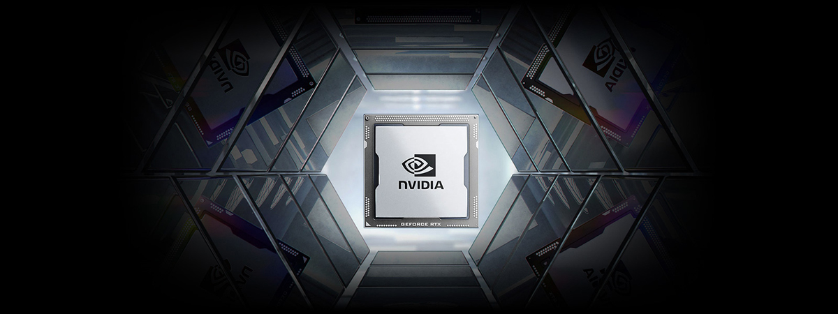 NVIDIA GPU in a hall of mirrors