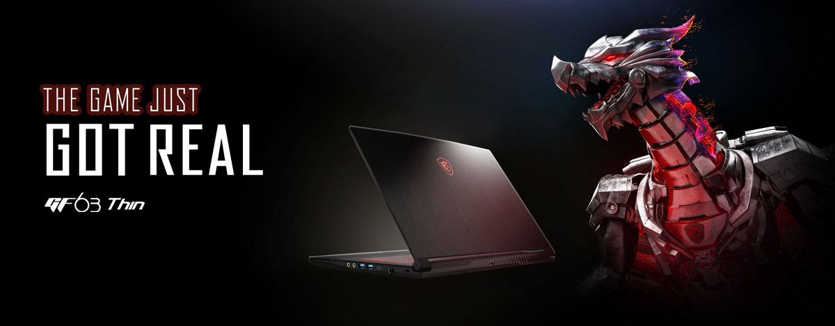 MSI GF63 NEPAL, msi gaming laptop nepal, msi gf63 i7 nepal, MSI GF63 i5 NEPAL