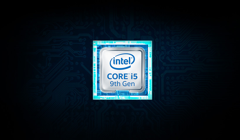 Intel Core i5 9th Gen Logo