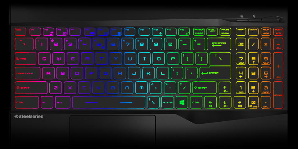 A RGB Backlit Keyboard