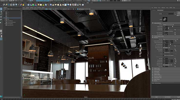 Working Environment: 3D Animation