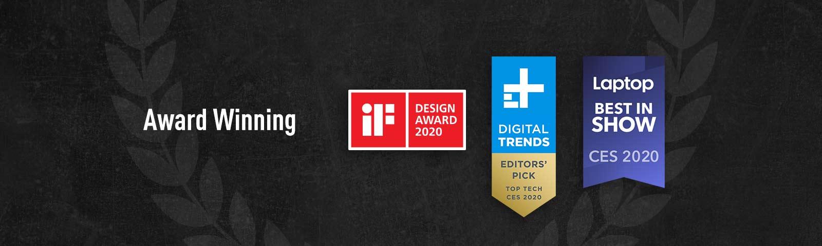 Somes logos of Award.