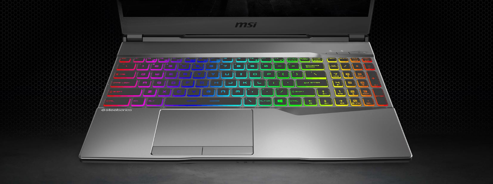 Backlit keyboard details