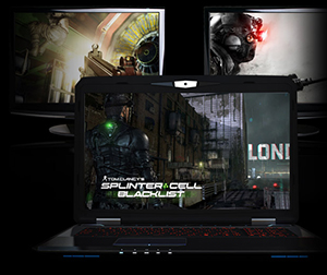 CyberpowerPC Fangbook Evo HX7-100 Gaming Laptop Intel Core i7-4700MQ 2 6GHz  17 3