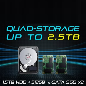 Speedy & Massive Storage