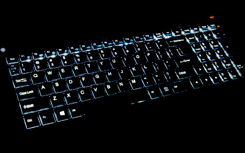 Backlit Keyboard for All-condition Gaming