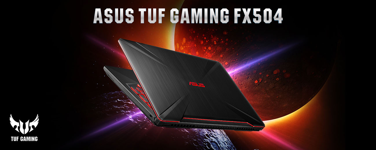 ASUS TUF Gaming Laptop FX504 15 6