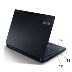 Acer TravelMate P633-M Notebook Detail - Part2
