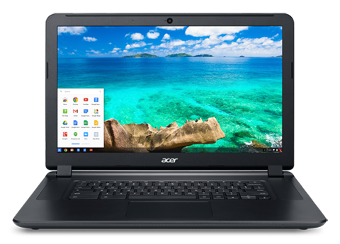 The appearance of the Acer Chromebook 15 C910