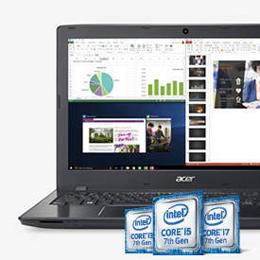 Acer Laptop Aspire E5 575 74RC Intel Core I7 7th Gen 7500U 270