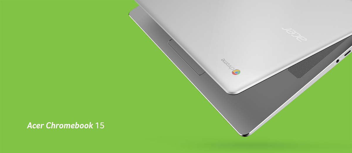 Acer Chromebook 15 CB3-532-C4ZZ Chromebook Intel Celeron N3060 (1 60 GHz) 4  GB LPDDR3 Memory 32 GB Internal Storage 15 6