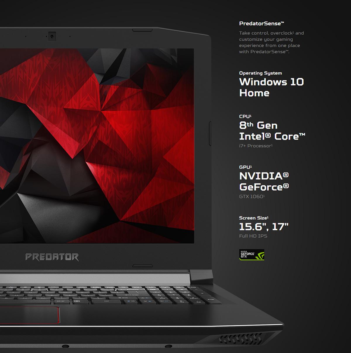 Acer PH317-52-77A4 17 3