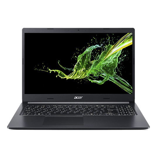 Acer Aspire 5 Front View, Screen is 90 Degree Opened.
