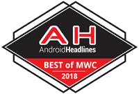 Android Headlines Best of MWC 2018 Badge